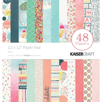 Kaisercraft PARTY 12x12 Inch Paper Pad PP239