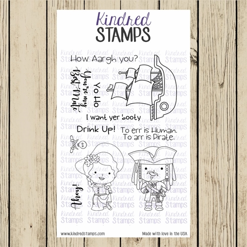 Yo Ho Stamp Set