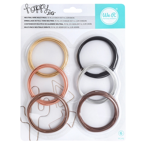 We R Memory Keepers NEUTRAL WIRE Multipack Happy Jig 660266 at Simon ...