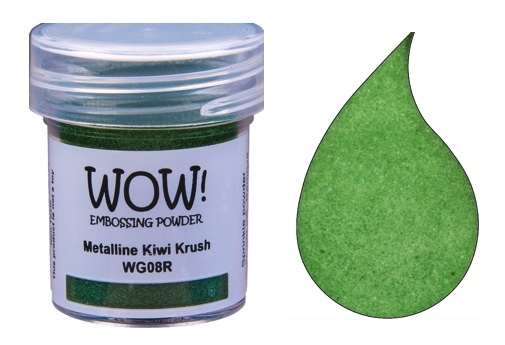 WOW Embossing Powder METALLINE KIWI KRUSH Regular WG08R zoom image