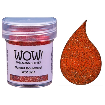 WOW Embossing Glitter SUNSET BOULEVARD WS182R