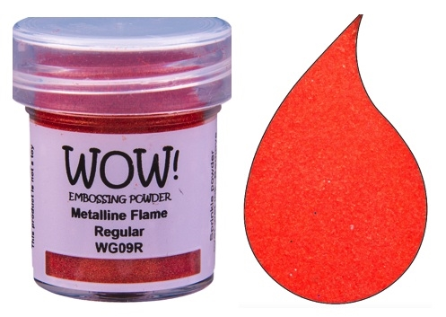 WOW Embossing Powder METALLINE FLAME Regular WG09R Preview Image
