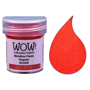 WOW Embossing Powder METALLINE FLAME Regular WG09R