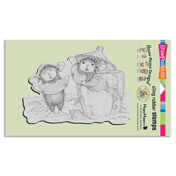 Stampendous Cling Stamp LEMON SOUR Rubber UM hmcr119 House Mouse