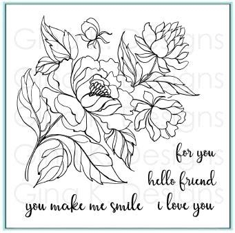 Gina K Designs You Make Me Smile Clear Stamps 4365 At Simon Says Stamp