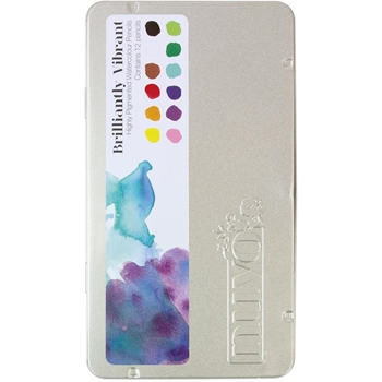 Tonic BRILLIANTLY VIBRANT Nuvo Watercolor Pencils 520n