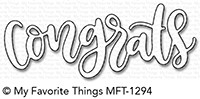 My Favorite Things CONGRATS Die-Namics MFT1294 Preview Image