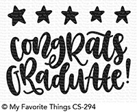 My Favorite Things STAR GRADUATE Clear Stamps CS294