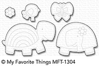 My Favorite Things TOO-CUTE TURTLES Die-Namics MFT1304