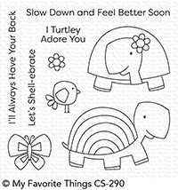 My Favorite Things TOO-CUTE TURTLES Clear Stamps CS290 zoom image