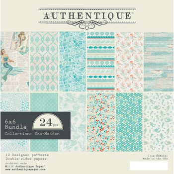 Authentique 6 x 6 SEA-MAIDEN Paper Pad sma011