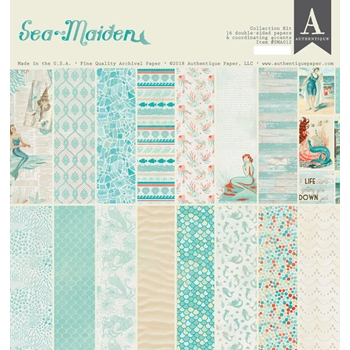 Authentique SEA-MAIDEN 12 x 12 Collection Kit sma012