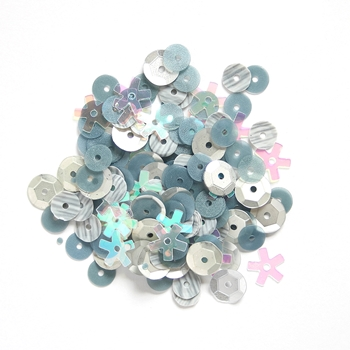28 Lilac Lane STEEL Sequin Mix PS725