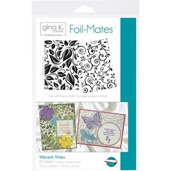 Therm O Web Gina K Designs VIBRANT VINES Foil-Mates 18073