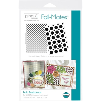 Therm O Web Gina K Designs BOLD BACKDROPS Foil-Mates 18072