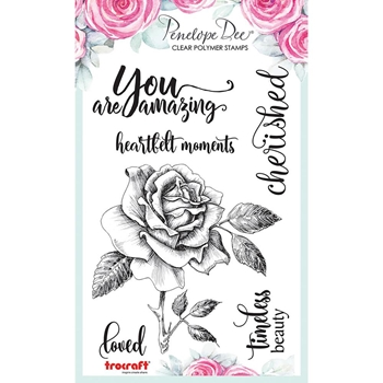 Penelope Dee YOU ARE AMAZING Clear Stamps pd1427