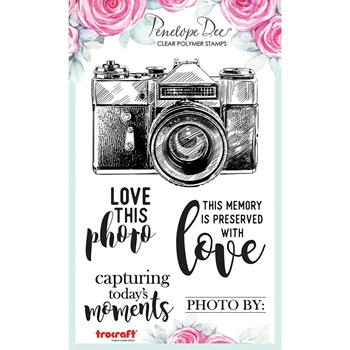 Penelope Dee CAMERA SENTIMENTS Clear Stamps pd1531