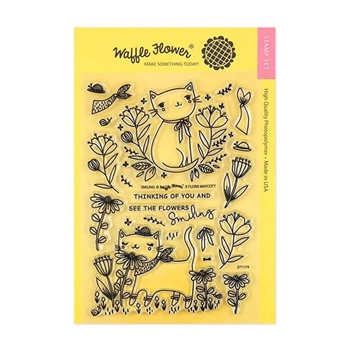 Waffle Flower SMILING Clear Stamp Set 271174