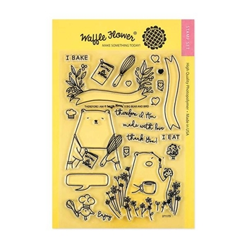 Waffle Flower THEREFORE I AM Clear Stamp Set 271173