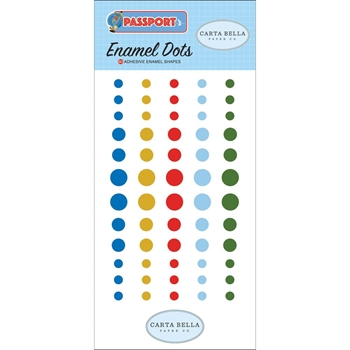 Carta Bella PASSPORT Enamel Dots cbpas84028
