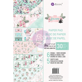 Prima Marketing A4 Paper Pad HAVANA 597672