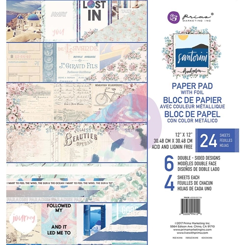 Prima Marketing SANTORINI 12 x 12 Collection Kit 994150 Preview Image