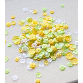Neat and Tangled LEMON LIME Sequin Mix NAT375
