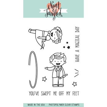 Neat and Tangled MAKING MAGIC Clear Stamp Set NAT370