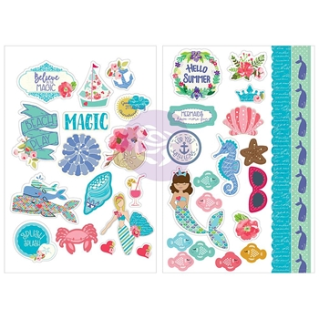 Prima Marketing MERMAID KISSES Stickers Julie Nutting 912734