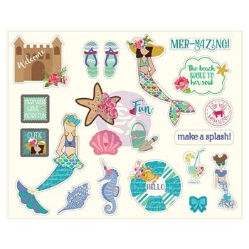 Prima Marketing MERMAID KISSES Ephemera Julie Nutting 912710