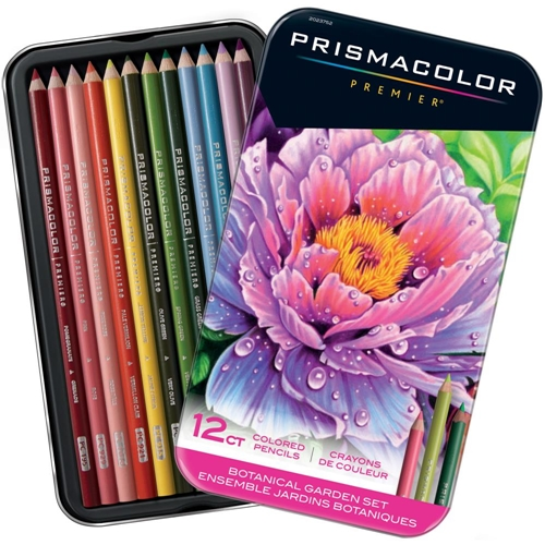 Prismacolor BOTANICAL GARDEN COLORED PENCIL SET OF 12 2023752 Preview Image