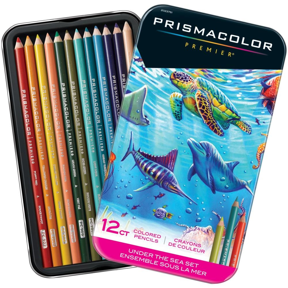 Prismacolor UNDER THE SEA COLORED PENCIL SET OF 12 2023751 zoom image