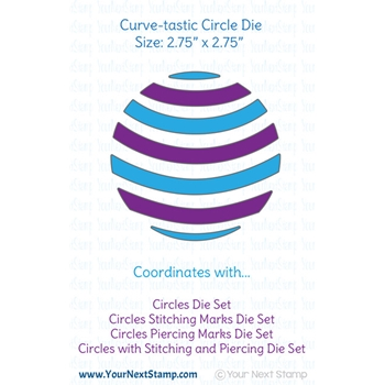 Your Next Die CURVE-TASTIC CIRCLE ynsd732