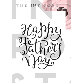 The Ink Road Stamps FATHER'S DAY Clear Stamp inkr033