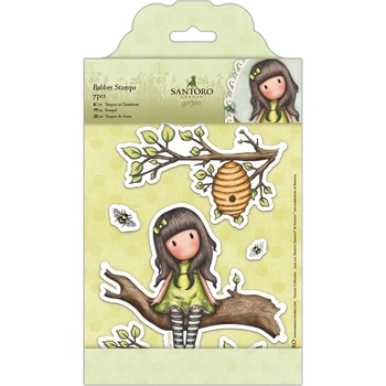 DoCrafts THE LITTLE LEAF Cling Stamps Gorjuss London go907222