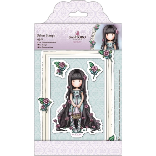 DoCrafts ROSIE Cling Stamps Gorjuss London go907218 Preview Image