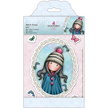 DoCrafts POM-POM Cling Stamps Gorjuss London go907220