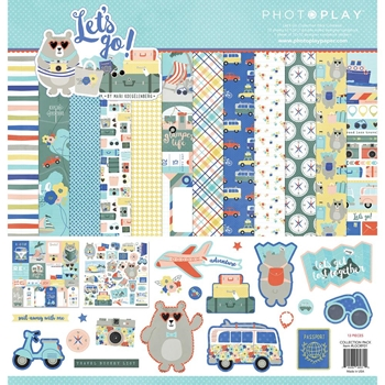 PhotoPlay LET'S GO 12 x 12 Collection Pack lgo8931