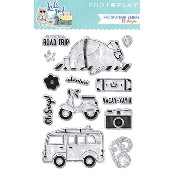 PhotoPlay LET'S GO Clear Stamps lgo8933