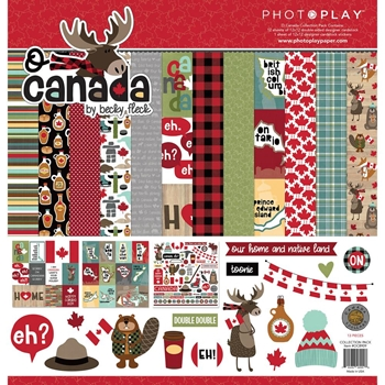 PhotoPlay O CANADA 12 x 12 Collection Pack oc8909