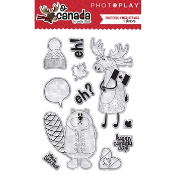 PhotoPlay O CANADA Clear Stamps oc8911