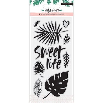 Crate Paper WILD HEART Clear Stamps 344443
