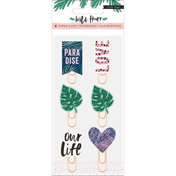 Crate Paper WILD HEART Decorative Clips 344440