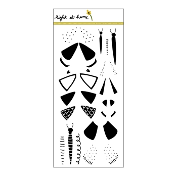 Right At Home FLUTTERING BY Clear Stamp 36014