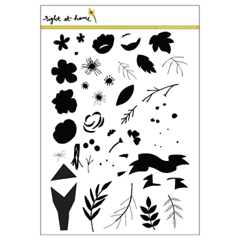 Right At Home FRESHLY PICKED Clear Stamp 35987