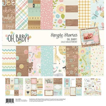 Simple Stories OH BABY 12 x 12 Collection Kit 10115