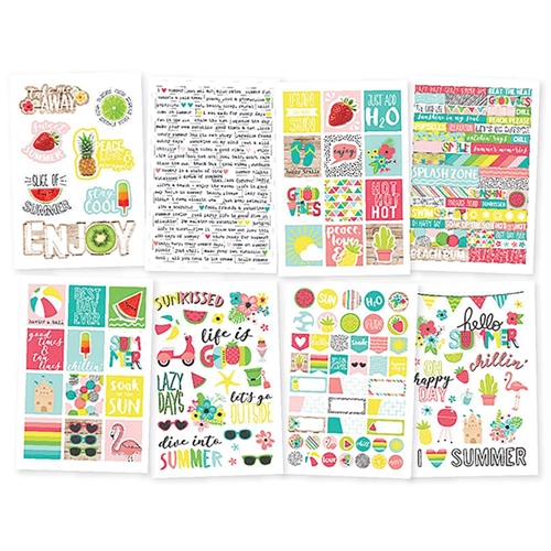 Simple Stories HELLO SUMMER 4 x 6 Stickers 10154 Preview Image