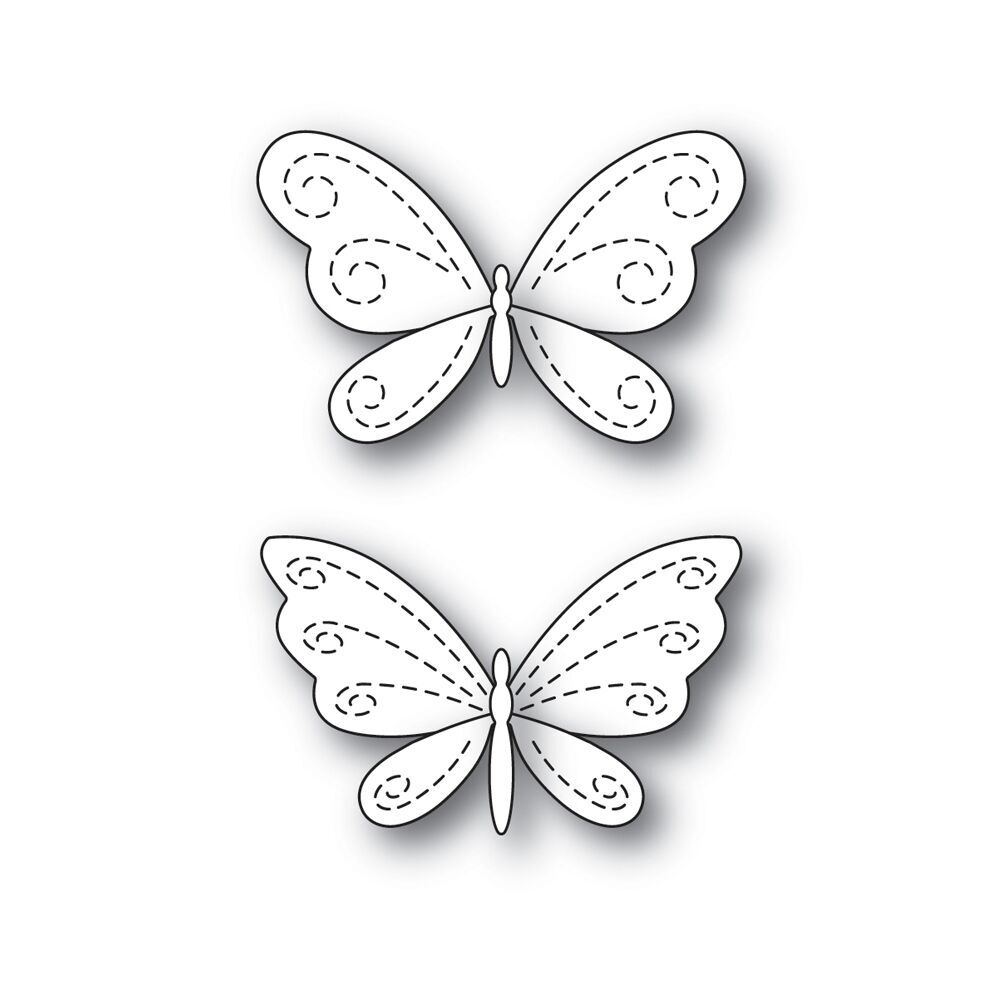 Simon's Exclusive Stitching Butterflies Die Set