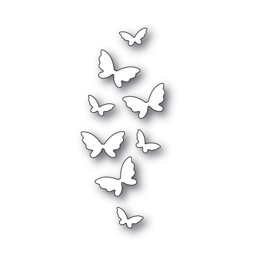 Simon Says Stamp FLICKERING BUTTERFLIES Wafer Dies s541 Fluttering By Preview Image