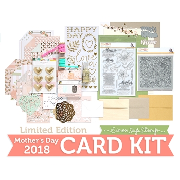Limited Edition Simon Says Stamp Card Kit MOTHER'S DAY 2018 sssmdck